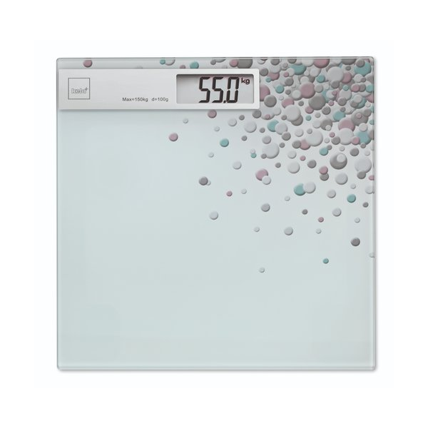 Bathroom Scale Bubbles