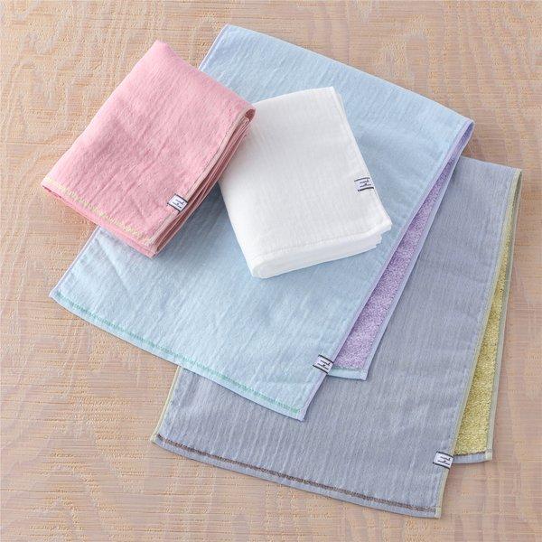 Marshmallow Gauze & Pile Hand Towel