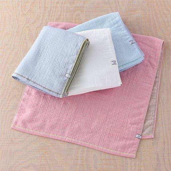 Marshmallow Gauze & Pile  Small Bath Towel
