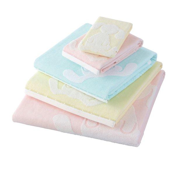 Fuwafuwa Bunny Long Bath Towel