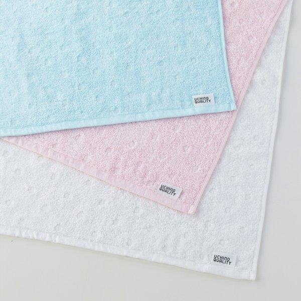 Fuwafuwa Gauze Dots Bath Towel
