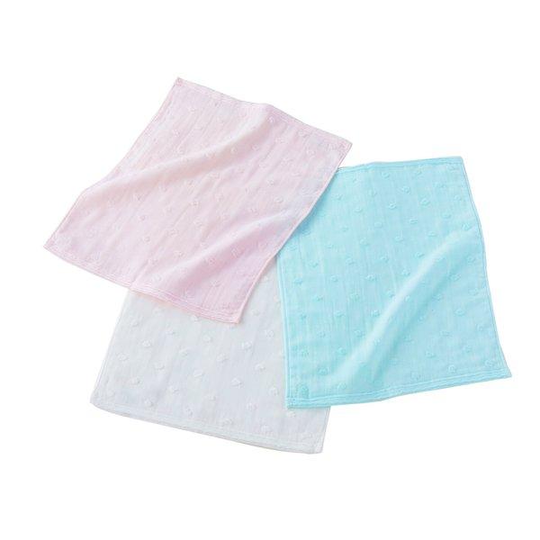 Fuwafuwa  Gauze Dots Face Towel