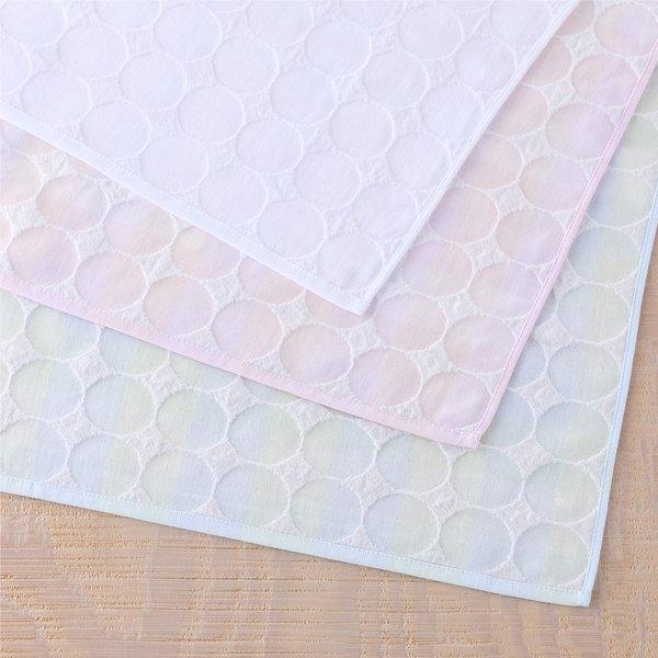 Air Gauze Dot Bath Towel