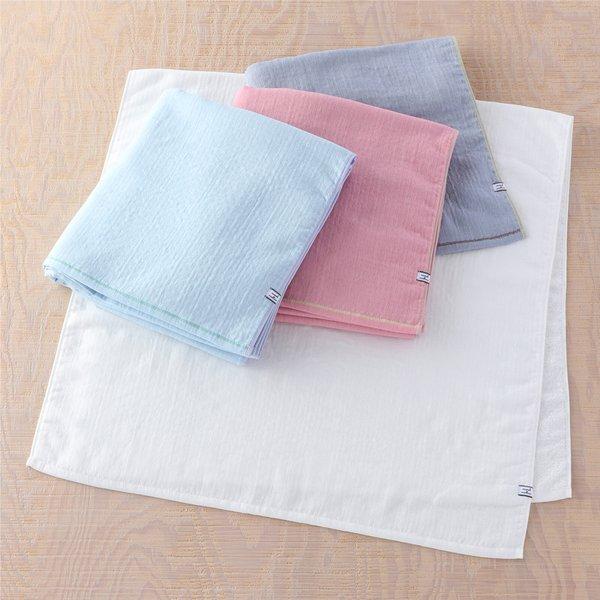 Marshmallow Gauze & Pile Bath Towel