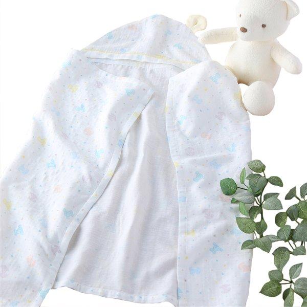 Marshmallow Gauze Dreaming Hooded Bath Towel