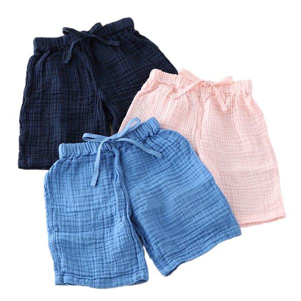 Crepe Gauze Kids Shorts
