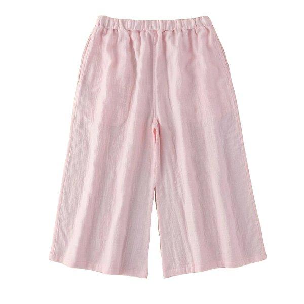Marshmallow Gauze Ladies Gaucho Pants