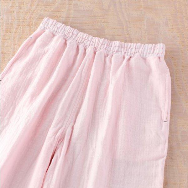 Marshmallow Gauze Ladies Relax Pants