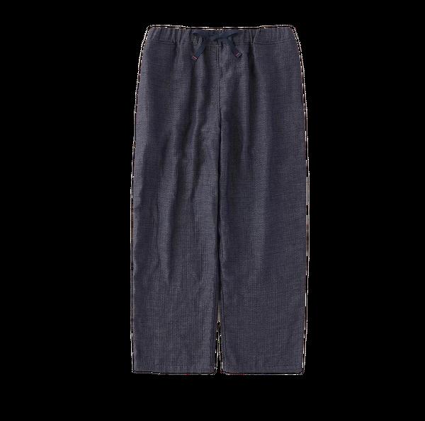 Marshmallow Gauze Chambray Men's Long Pants
