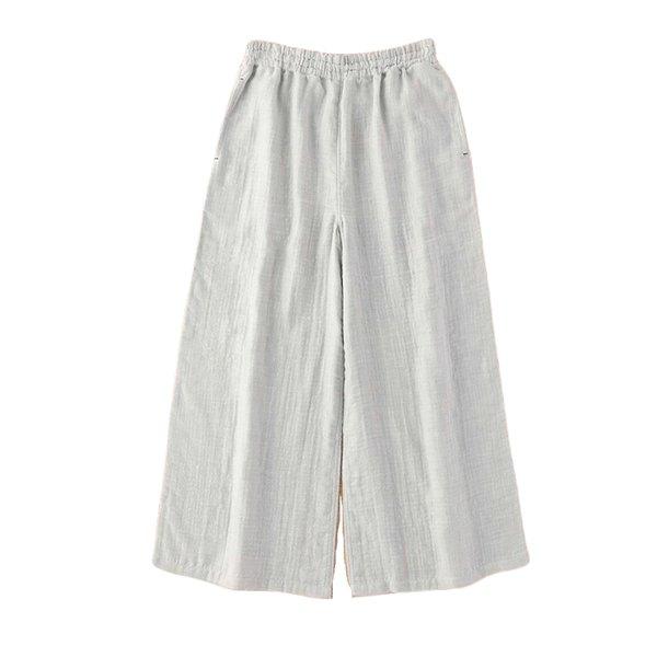 Marshmallow Gauze Ladies Chambray Relax Pants