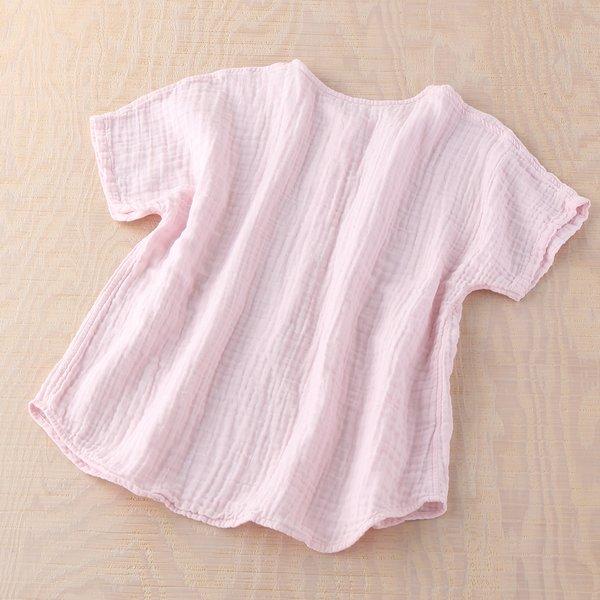 Crepe Gauze Ladies Short Sleeve Pyjamas