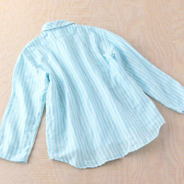 Marshmallow Gauze With Stripe Ladies Pyjamas