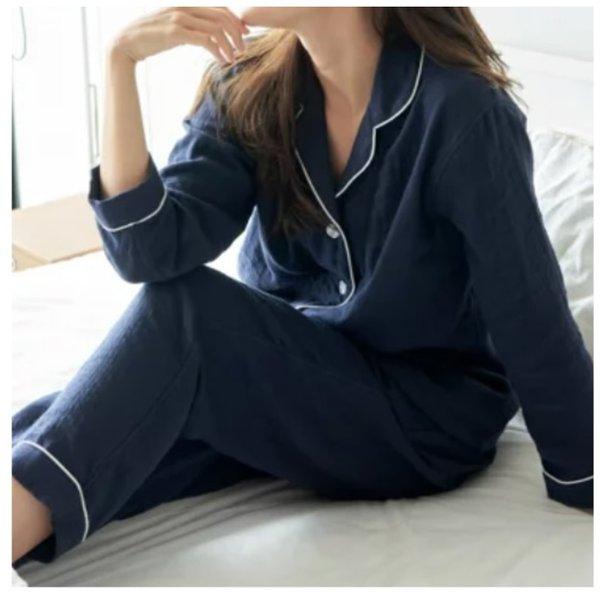 Marshmallow Gauze Colour Ladies Pyjamas