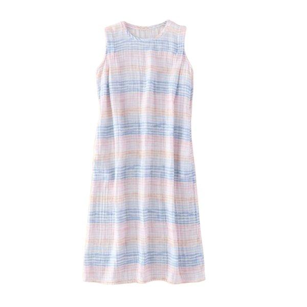 Crepe Gauze Ladies Printed Dress