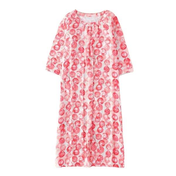 Marshmallow Gauze Ladies Printed Dress